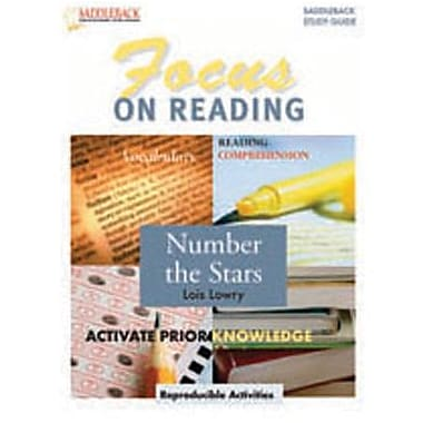Saddleback Educational Publishing® Number the Stars (Enhanced eBook);  Grades 6-12