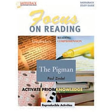 Saddleback Educational Publishing® The Pigman (Enhanced eBook); Grades 6-12