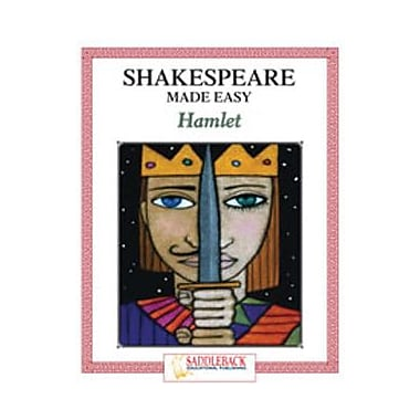 Saddleback Educational Publishing® Hamlet Student Guide; Enhanced eBook, Grades 9-12
