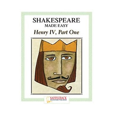 Saddleback Educational Publishing® Henry IV Student Guide; Enhanced eBook, Grades 9-12