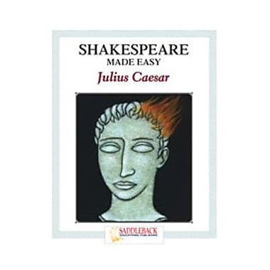 Saddleback Educational Publishing® Julius Caesar Student Guide; Enhanced eBook, Grades 9-12