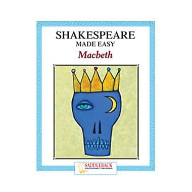 Saddleback Educational Publishing® Macbeth Student Guide; Enhanced eBook, Grades 9-12