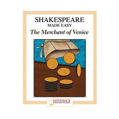 Saddleback Educational Publishing® Merchant of Venice Student Guide; Enhanced eBook, Grades 9-12