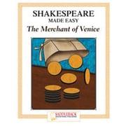 Saddleback Educational Publishing® Merchant of Venice Student Guide; Enhanced eBook, Grades 9-12