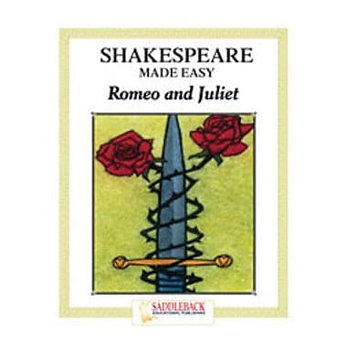 Saddleback Educational Publishing® Romeo and Juliet Student Guide; Enhanced eBook, Grades 9-12