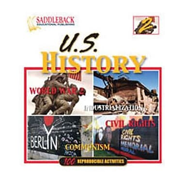 Saddleback Educational Publishing® U.S. History Binder 2 (Enhanced eBook); Grades 5-12