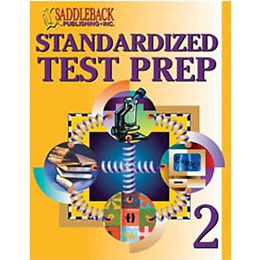 Saddleback Educational Publishing® Standardized Test Prep 2 (Enhanced eBook); Grades 6-12