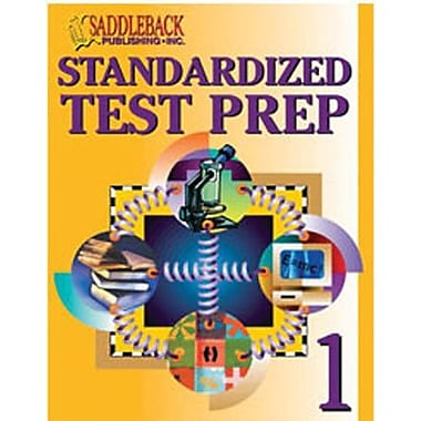 Saddleback Educational Publishing® Standardized Test Prep 1 (Enhanced eBook); Grades 6-12