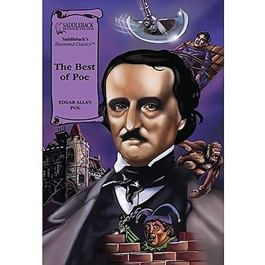 Saddleback Educational Publishing® The Best of Poe; Hardcover Book, Grades 9-12