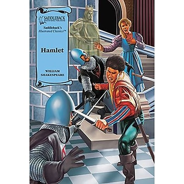 Saddleback Educational Publishing® Hamlet Hardcover Book; Grades 9-12