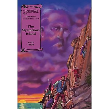 Saddleback Educational Publishing® The Mysterious Island; Hardcover Book, Grades 9-12