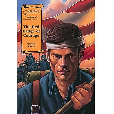 Saddleback Educational Publishing® The Red Badge of Courage; Hardcover Book, Grades 9-12