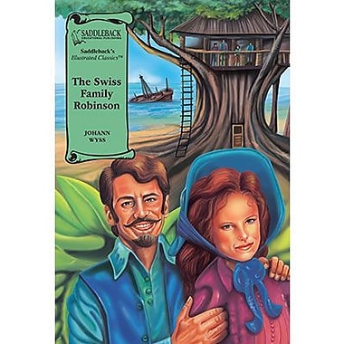Saddleback Educational Publishing® The Swiss Family Robinson; Hardcover Book, Grades 9-12