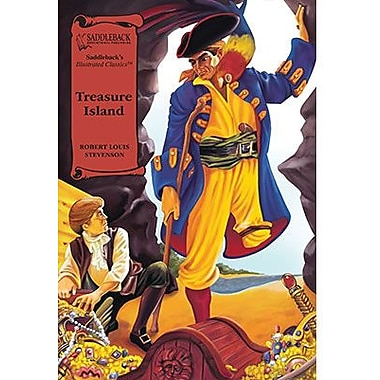 Saddleback Educational Publishing® Treasure Island; Hardcover Book, Grades 9-12