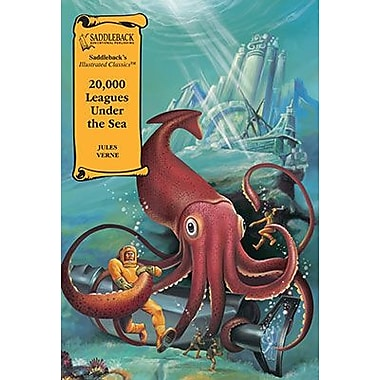 Saddleback Educational Publishing® 20,000 Leagues Under the Sea; Hardcover Book, Grades 9-12