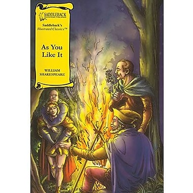 Saddleback Educational Publishing® As You Like It Hardcover Book; Grades 9-12