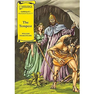 Saddleback Educational Publishing® The Tempest Hardcover Book; Grades 9-12