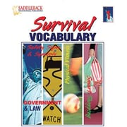 Saddleback Educational Publishing® Survival Vocabulary 1 (Enhanced eBook); Grades 9-12