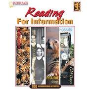 Saddleback Educational Publishing® Reading for Information 1 (Enhanced eBook); Grades 5-12