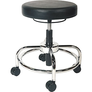 Alera 24in. Adjustable Drafting Utility Stool, Black (AAPCS614 )