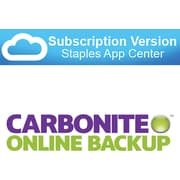 Carbonite Business online backup - automatic and secure  (cloud  software)