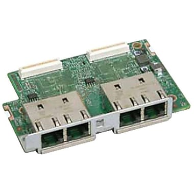 intel® AXX4GBIOMOD2 Gigabit Ethernet I/O Expansion Module, 4 x RJ-45