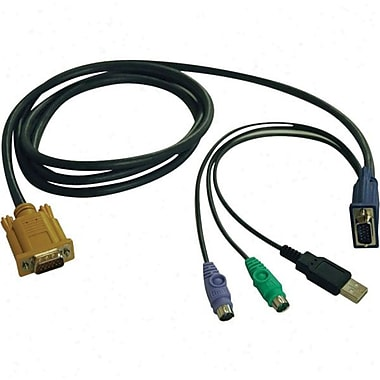 Tripp Lite P778-006 KVM Switch USB/PS2 Combo Cable, 6'