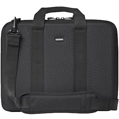 Cocoon CLB353 Murray Hill Laptop Case For 13in. Laptops, Black/Yellow