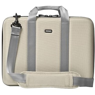 Cocoon CLB353 Murray Hill Laptop Case For 13in. Laptops, Stone Beige