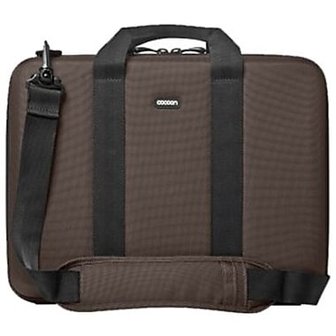 Cocoon CLB403 Murray Hill Laptop Case For 16in. Laptops, Java Brown/Olive