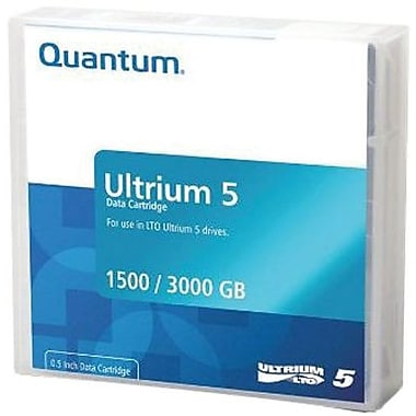 Quantum  MR-L5MQN-20 LTO Ultrium 5 Data Cartridge, 1.50 TB (Native)/3 TB (Compressed)