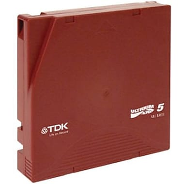 TDK  61857 Life On Record LTO Ultrium 5 Data Cartridge, 1.50 TB (Native)/3 TB (Compressed)