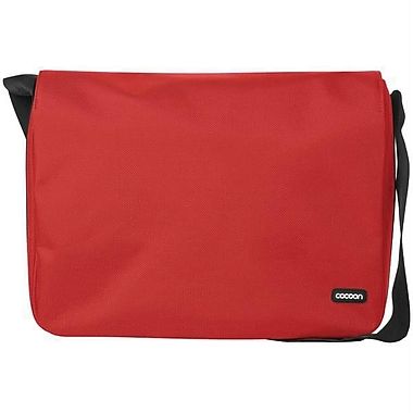 Cocoon CMB351RD Soho Messenger Bag For 13in. Laptops, Racing Red