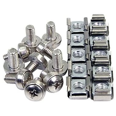 STARTECH.COM® M6 Mounting Screw And Cage Nut For Server Rack