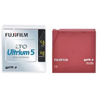 Fujifilm 16008030 LTO Ultrium 5 Data Cartridge, 1.50 TB (Native)/3 TB (Compressed)
