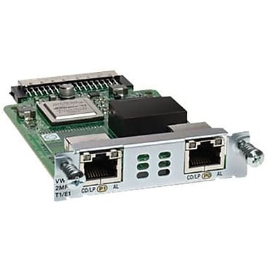 Cisco™ VWIC3-2MFT-T1/E1 2 Port 3rd GEN Multiflex Trunk Voice Intf Card For Cisco Router 1900, 2900