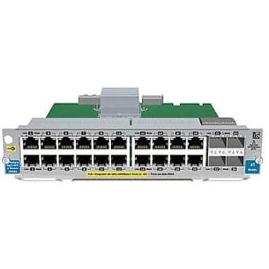 HP® J9535A 20 Port GIG-T PoE+/4 Port SFP V2 Expansion Module