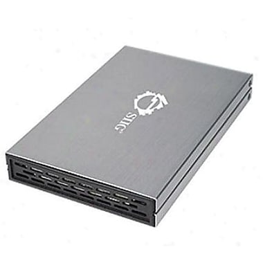 SiiG® JU-SA0912-S1 External SuperSpeed Enclosure