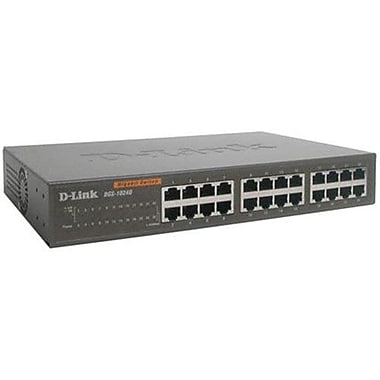 D-Link DGS-1016D 16-Port 10/100/1000 Gigabit Ethernet Unmanaged Switch