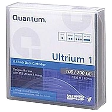 Quantum  MR-L1MQN-01 Ultrium LTO-1 Data Cartridge, 100 GB (Native)/200 GB (Compressed)