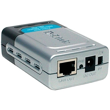 d-link® DWL-P50 Power over Ethernet (PoE) Splitter 802.3AF Compliant