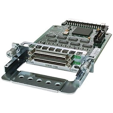 Cisco™ HWIC-16A= 16-Port Asynchronous HWIC Spare For 2801, 2811, 2821, 2851 Routers