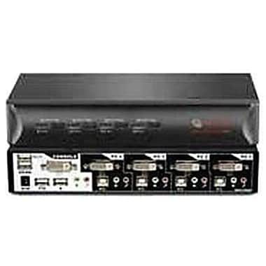 Avocent® SwitchView™ 4SVDVI10-001 DVI KVM Desktop Switch, 4 Ports