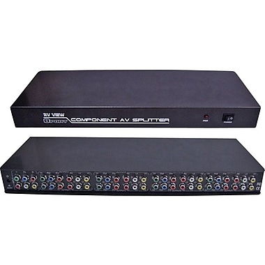 RF-Link AVS-18 Component And Composite AV Splitter For All HDTV Component Video Signals