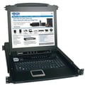 Tripp Lite B020-008-17 NetDirector Console KVM Switch With 17in. LCD, 8 Ports