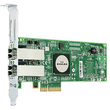 Emulex® LightPulse E11002 4 GB Dual Port Fibre Channel Host Bus Adapter