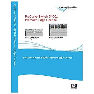 HP® J8994A ProCurve Premium Edge Software Licensing For 5406zl intelligent edge Switch