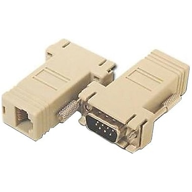 Avocent® ADB0037 Cyclades Serial RS-232 RJ-45F to DB-9M Crossover Adapter