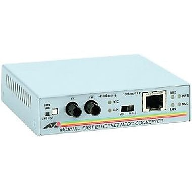 Allied Telesis™ MC101XL-90 100BTX to 100BFX Stand-Alone Media Converter