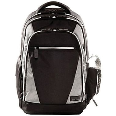 Eco Style EVOY-BP17 Sports Voyage Backpack For 17.3in. Notebook, Black/Platinum